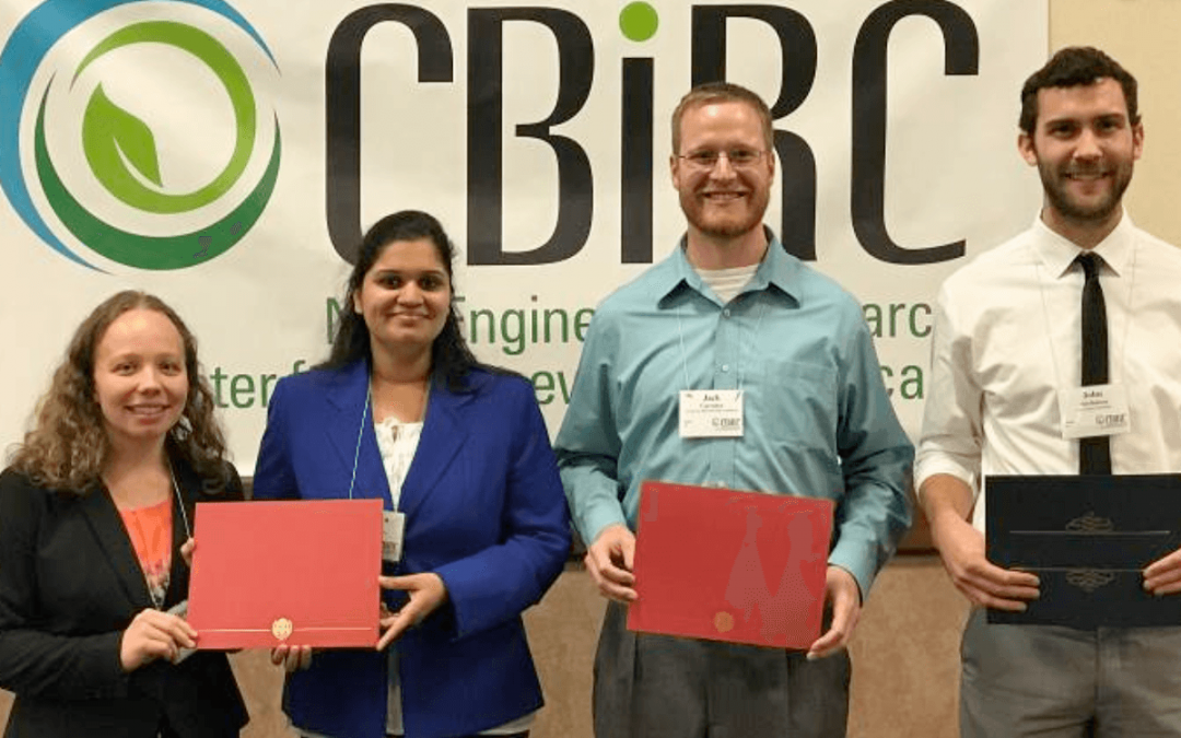 John, Jack, and Radhika win respectively the Grand, 1st, and 2nd Prize in CBiRC's 90-second perfect pitch competition. Congratulations!